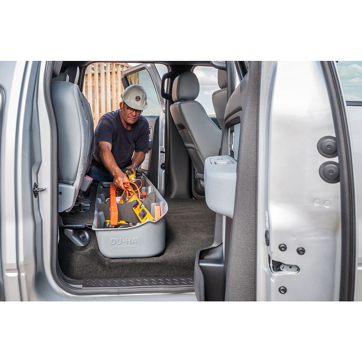 14 Ford Transit Custom L1 270 Swb: Behind Seat Or Underseat Storage For Truck Cabs With Gun