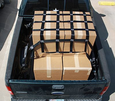 Ford Transit 150 Cargo Van >> Ford F150 Cargo Net for short bed pickups available in any size by Graham