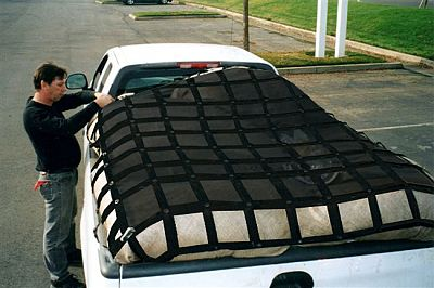 Gladiator Pickup Truck And Trailer Nets For Cargo Restraint By Graham